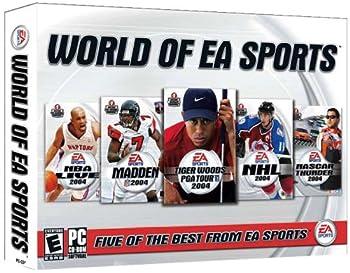 The World of EA Sports  NBA Live 2004 Madden 2004 Tiger Woods PGA Tour 2004 NHL 2004 Nascar Thunder 2004