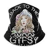YUIT Volver a la gitana que era Stevie Nicks Máscara de microfibra para el cuello, máscara de esquí, toalla de cara, deportes al aire libre