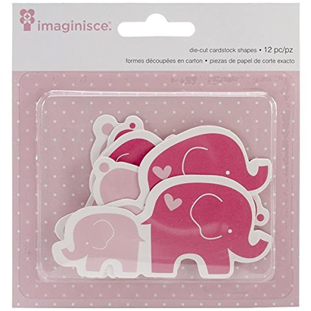 American Crafts 12-Piece Imaginisce My Baby: Bunnies and Elephants Die-Cuts