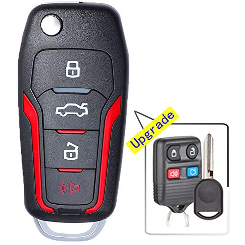 Alegender Hand Sew Leather Key Fob Cover Protector Case Bag Fit for Lexus GS430 GS300 IS350 IS250 Rx350 LX570 ES350 RX450 Remote Control 4 Buttons