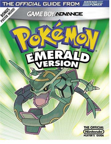 Official Nintendo Pokemon Emerald Player's Guide