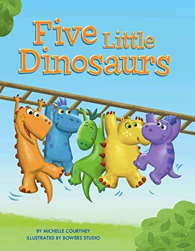 Five Little Dinosaurs - Children's Chunky Padded Board Book - Friendship