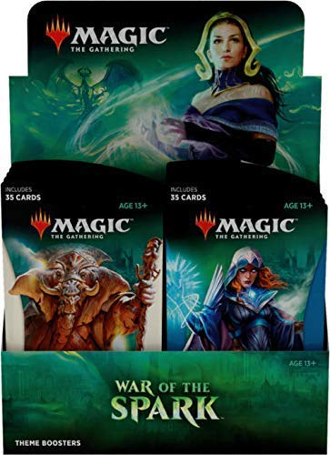 Magic The Gathering C63040000 War of The Spark-Theme - Juego de 10 Paquetes