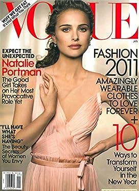 Vogue Magazine January 2011 Natalie Portman Cover