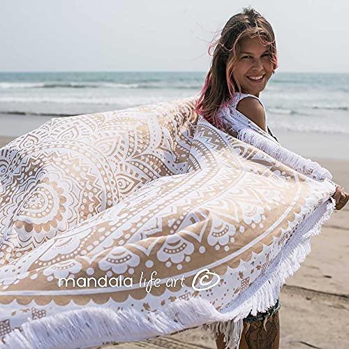 Bohemian Decor Round Beach Tapisserie - 72