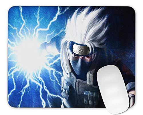Timing&weng Kakashi Mouse pad Gaming Mouse pad Mousepad Nonslip Rubber Backing