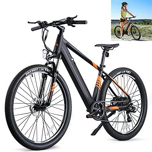 E Bike Höchstgeschwindigkeit 25 km/h Fatbike Batteriekapazität 10Ah Elektrische MTB Mann Mechanische Scheibenbremsen Entdecken Sie die wunderschöne Landschaft