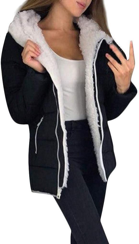 Women Zipper Coat Fashion Winter Thicken Coats Warm Jacket