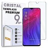 Protector de Pantalla para OPPO Reno Z, Cristal Vidrio Templado Premium