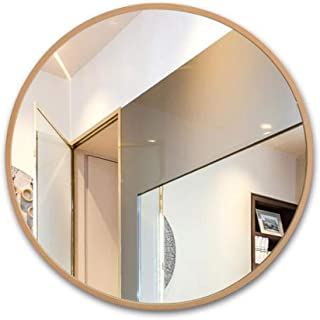 Bathroom Wall Mounted Round Mirror Hanging Makeup Shaving Frame Decorating 5CD1 (Size : 70cm)