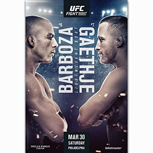 Handaxian Plakate und Drucke Fight Night Boxing Art Leinwand Malerei Home Decoration 70x110cm Rahmenlos