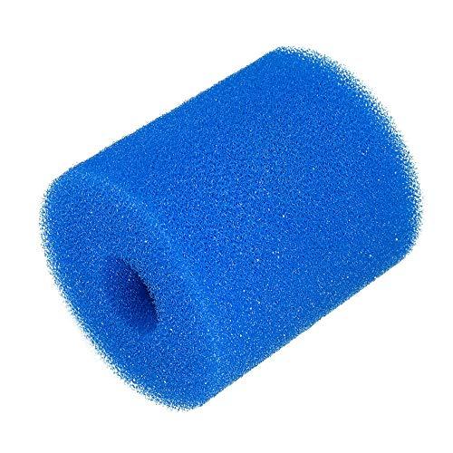 Xueliee Cartouche de filtre en mousse r/éutilisable lavable pour nettoyage de piscine Intex Type H 1 pi/èce.