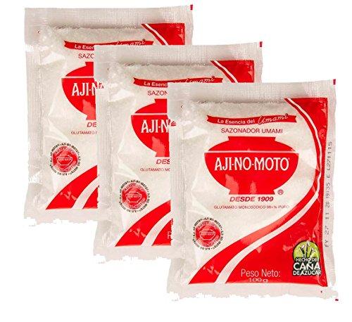 Pack 3 Ajinomoto Sazonador de 100g (3x100g)