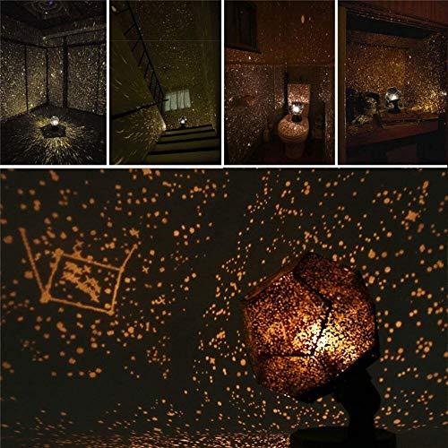 Proyector celestial de la estrella del planetario romántico, 60,000 estrellas Lámpara original...