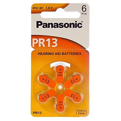 Panasonic Hearing Aid Batteries Zinc Air Size 13 (180 Batteries)