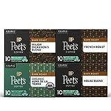 Peet's Coffee Dark Roast Variety Pack K-Cup Coffee Pods for Keurig Brewers, Variety Pack, 40 Pods