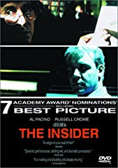 The Insider recounts the chain of events that pitted an ordinary man against the tobacco industry, and dragged two people into the fight of their lives.Academy Award Winner Al Pacino (Any Given Sunday, The Devil s Advocate) gives a powerful performan...