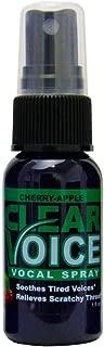 Clear Voice Vocal Spray Cherry Apple -- 1 fl oz