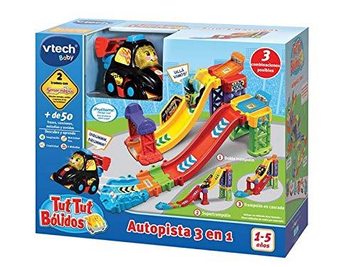 VTech- TTB Autopista 3 en 1 Pistas Coches tut bólidos. (3480-527522) , color/modelo surtido