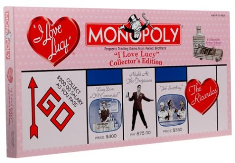 I Love Lucy 50th Anniversary Collectors Edition Monopoly Board Game