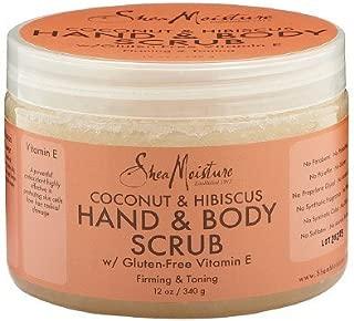 SheaMoisture Coconut & Hibiscus Hand & Body Scrub12 Ounces