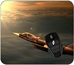 Non-Slip Rubber Thick Mouse Pad Military Lockheed F-104 Starfighter Mouse Mat