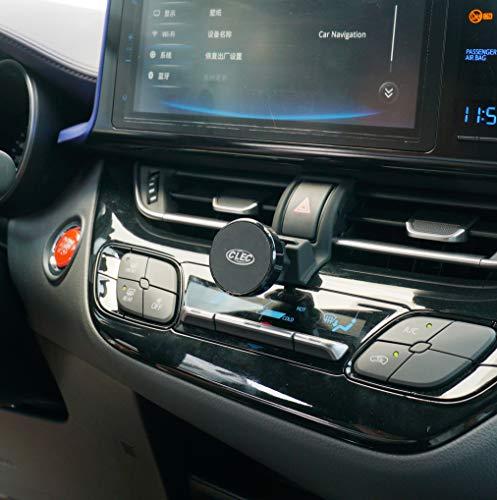 Beerte - Soporte para teléfono de coche para Toyota CHR 2018, soporte de rejilla de ventilación, apto para teléfono móvil con clip de ventilación