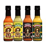 Gringo Bandito Hot Sauce Classic Variety Pack, 5 oz (Pack of 4)