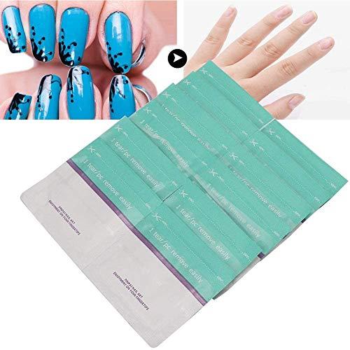 200pcs Pack Nagellak verwijderen, Disposable Niet Toxische Tin Foil Wraps Veeg wattenschijfjes Manicure Tool UV Gel Remover lsmaa
