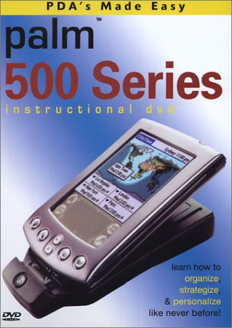 Palm Handheld 500 Series Instructional Training DVD (m515)