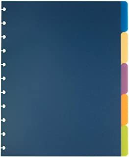 TUL Custom Note-Taking System Discbound Tab Dividers, 8 1/2