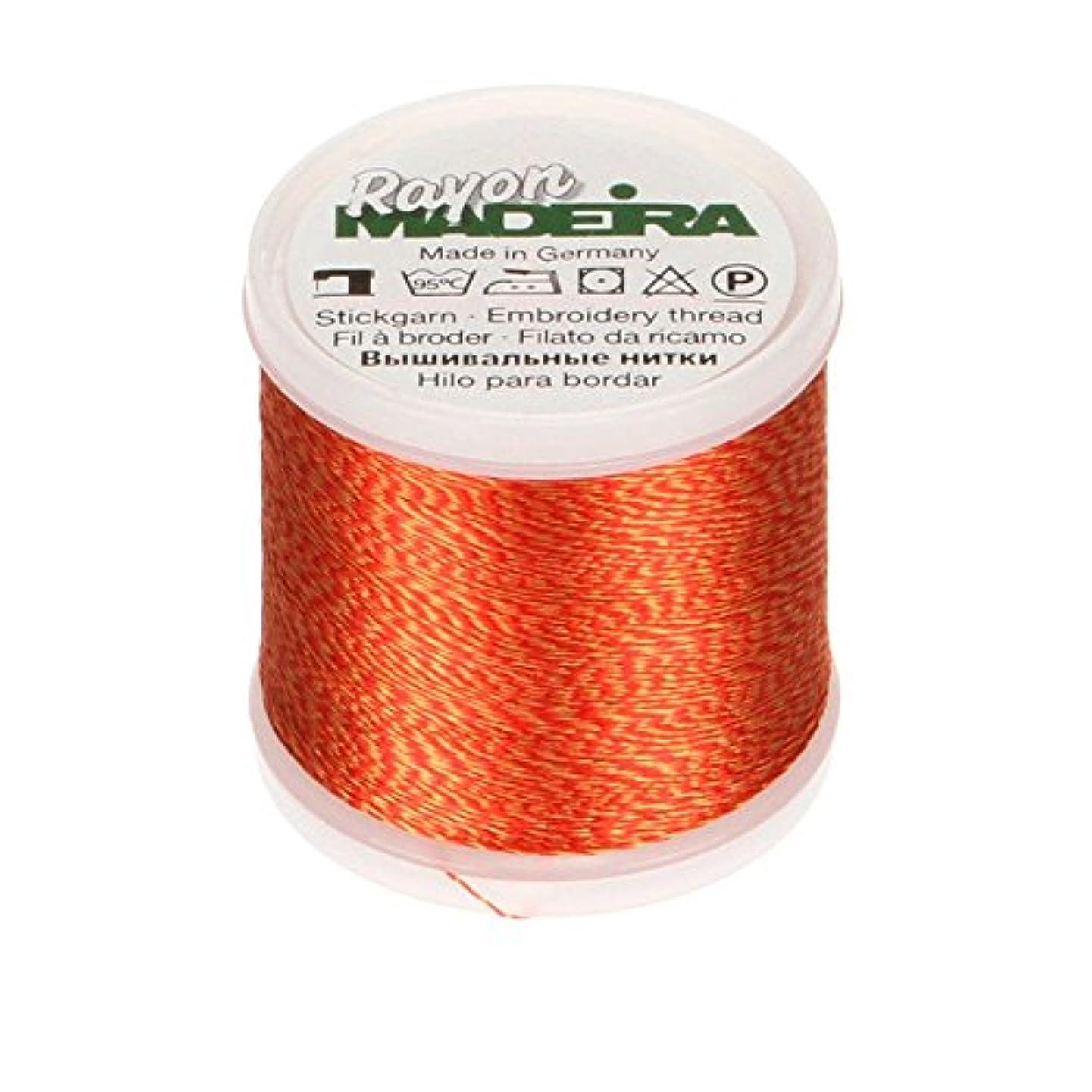 Madeira 9840-2228 Rayon Embroidery Thread, 40wt/220 yd, Mélange Caribbean