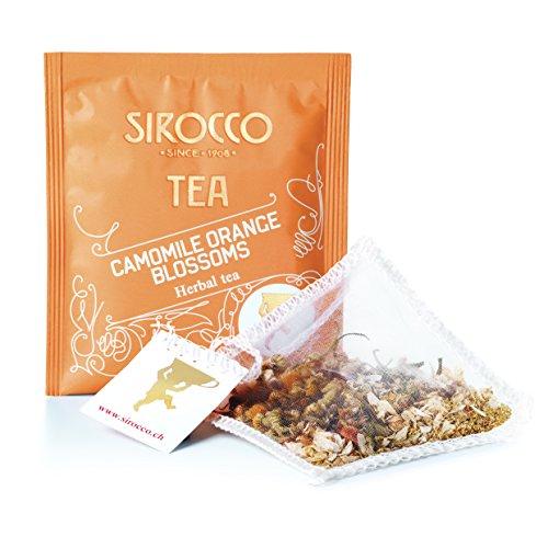 Sirocco Tee Camomille Orange Blossoms - milde Kamille und zarte Orangenblüten