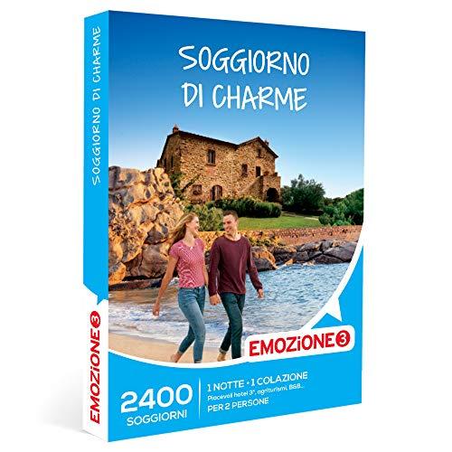 EMOZIONE3 - Soggiorno di charme -  Cofanetto Regalo Soggiorni   - 1 notte con colazione per 2 persone