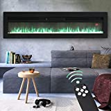 Best Fireplace Inserts - FIDOOVIVIA Electric Fireplace Freestanding Wall/Insert Mounted Fire Suite Review