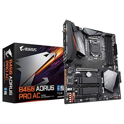 GIGABYTE Intel B460 AORUS PRO AC LGA 1200 ATX Motherboard