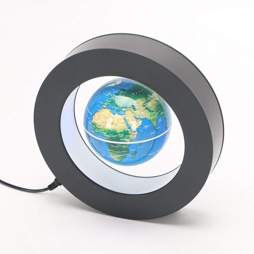 瞬時に急行するパテ磁気浮遊地球儀、オフィスの家のギフトの装飾のための導かれたライトが付いている懸濁液の世界地図の指導の地球儀、