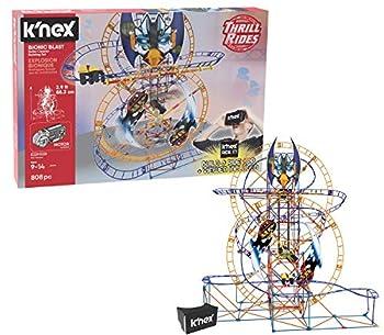 K NEX Thrill Rides – Bionic Blast Roller Coaster Building Set with Ride It! App – 809Piece – Ages 9+ Building Set