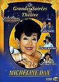 Les Grandes soirées du théâtre avec Micheline Dax - Coffret 3 DVD : Quelle famille ! - Une clef pour deux - Le Don d'Adèle [Francia]