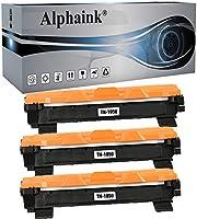 Alphaink 3 Toner compatibili con Brother TN-1050 TN-1000 per stampanti Brother HL-1210W HL-1212W HL-1110 HL-1112...
