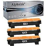 Alphaink 3 Toner compatibili con Brother TN-1050 TN-1000 per stampanti Brother HL-1210W HL-1212W HL-1110 HL-1112 DCP-1510 DCP-1512 DCP-1610W DCP-1612W MFC-1810 MFC-1910W