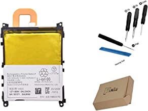 Foir LIS1525ERPC Replacement Li-ion Battery for Sony Xperia Z1 C6902 C6903 C6906 C6943 L39h 3000mA with Tools USA
