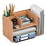 JOPOO Schreibtisch Holz Dokument...
