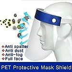 SGODDE 10 Pcs Pantalla Protección Facial Transparente, Protector Facial de Seguridad, Viseras de Seg... #1