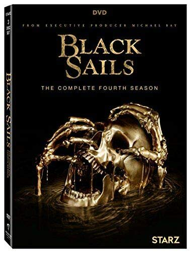 Black Sails The Complete Fourth Season 4 Four (DVD,2017,3-Disc Set)