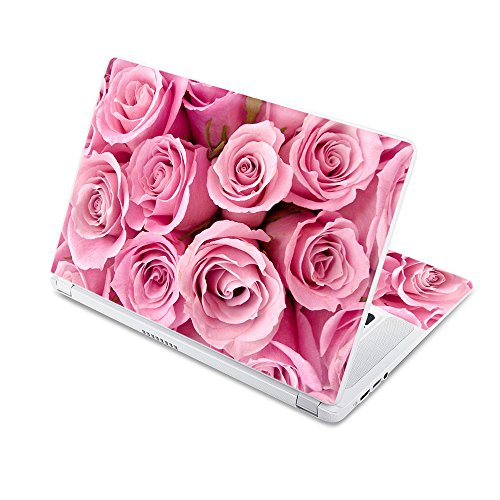 """MightySkins Skin Compatible with Acer Chromebook 15 15.6"""" (2017) - Pink Roses 