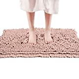 FRESHMINT Chenille Bath Rugs Extra Soft and Absorbent...