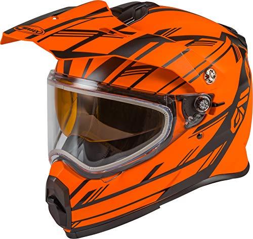 Casco De Moto Naranja  marca Gmax