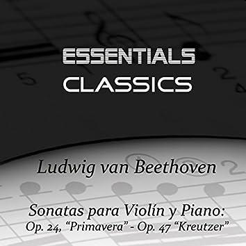 """Beethoven - Violin Sonatas No, 5 Op. 24 """"Spring"""" & No. 9 Op. 47 """"Kreutzer"""""""