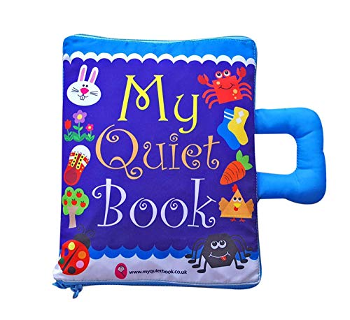 My Quiet Book Soft fabric Activity book for Toddlers and young Children